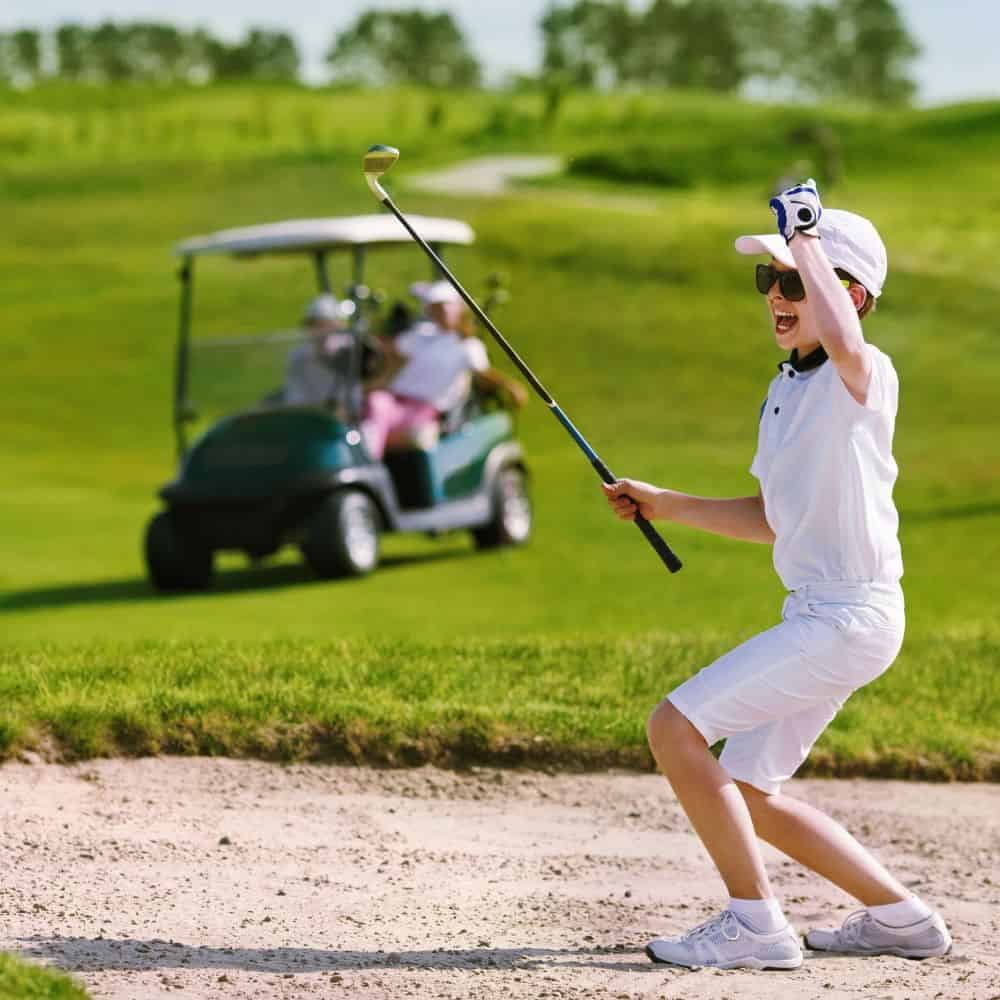 Complete Guide to Play Golf with Your Kids